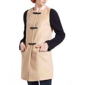 Anthro Leifsdottir Reeta Color Block Coat Size 10